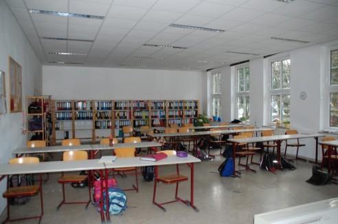 Die neuen (Ausweich-)Klassenzimmer sind bezogen