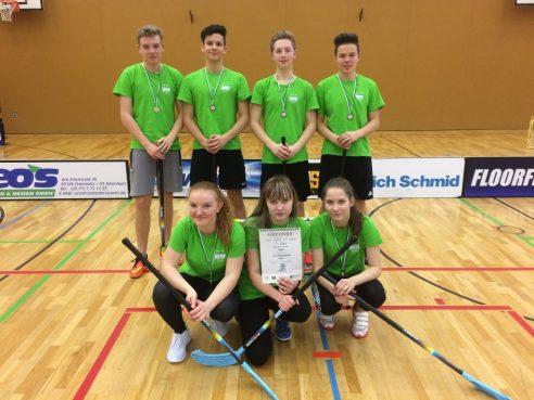 """Floorballturnier in Chemnitz <br> """"Jugend trainiert für Olympia"""" – Regionalfinale"""