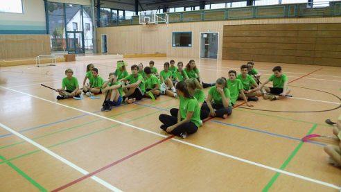 """Floorball in Gelenau """"JtfO Kreisfinale Annaberg"""""""