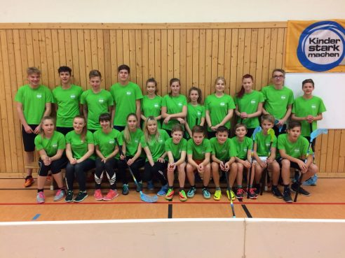 "Floorballturnier in Lengefeld ""Jugend trainiert für Olympia"""